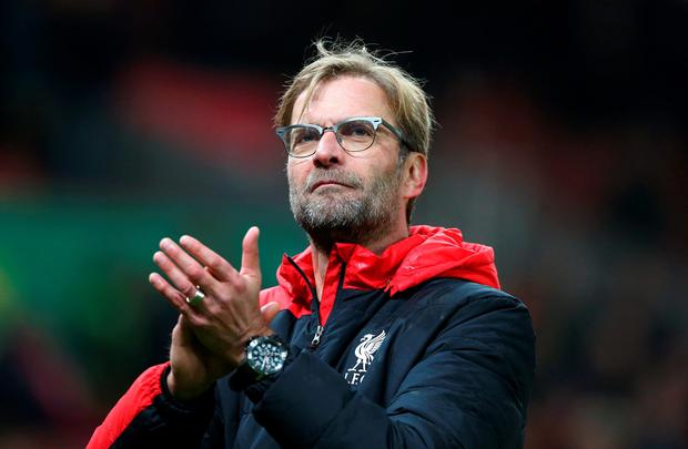 Liverpool manager Jurgen Klopp is expected to rotate his squad for Wednesday's FA Cup third-round replay. PA