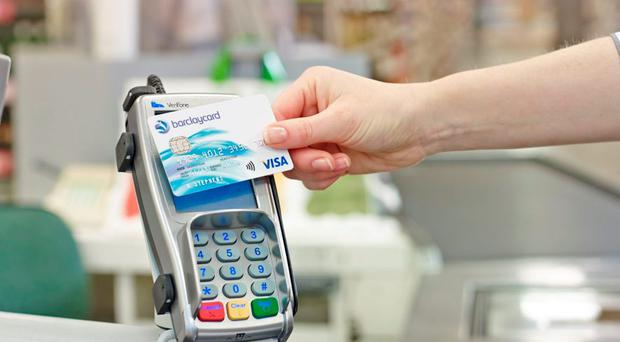 Big spenders: A total of 121 million contactless purchases were made during November
