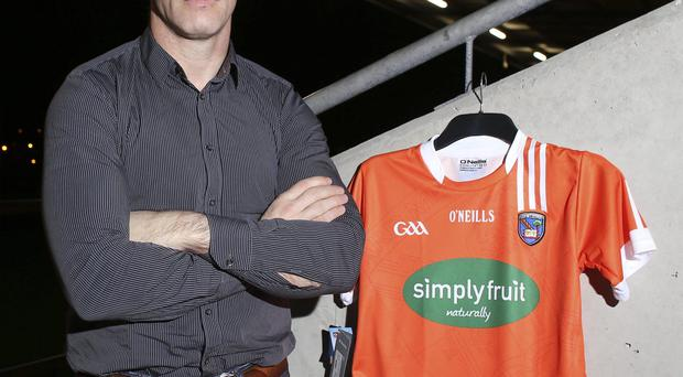 Serious issue: Armagh boss Kieran McGeeney warned of the danger of burning out young stars