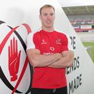 Going for it: Ulster's Stephen Ferris