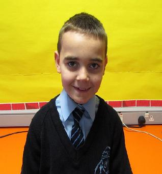 Shane Nicholl was a primary seven pupil. Picture: St Dallan's Primary School