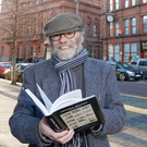 Eye opener: journalist Malachi O'Doherty outside the Belfast Telegraph offices