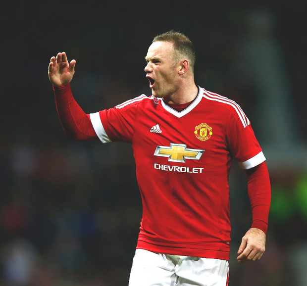 Take that: Manchester United's Wayne Rooney scored the winner at Anfield last weekend