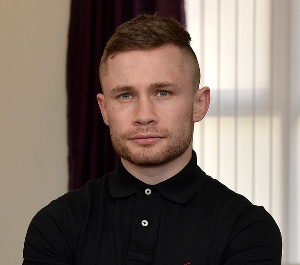IBF super-bantamweight champion Carl Frampton