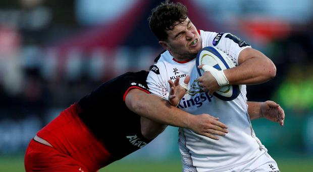 Crunch game: Sean Reidy says Ulster must secure the win over Ouonnax first before they go hunting the bonus point they need