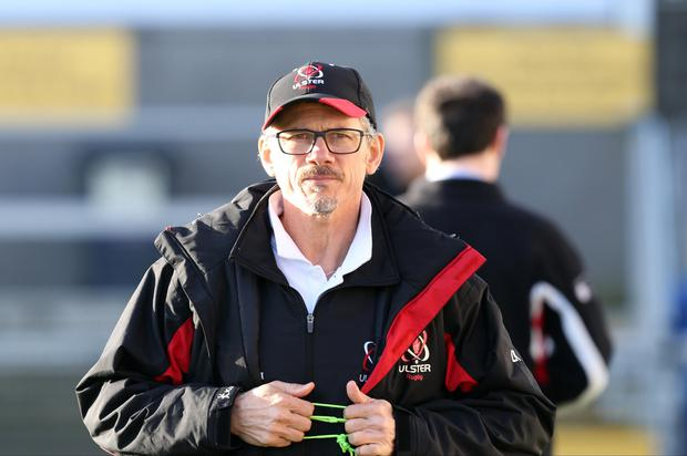 Ulster director of Rugby, Les Kiss