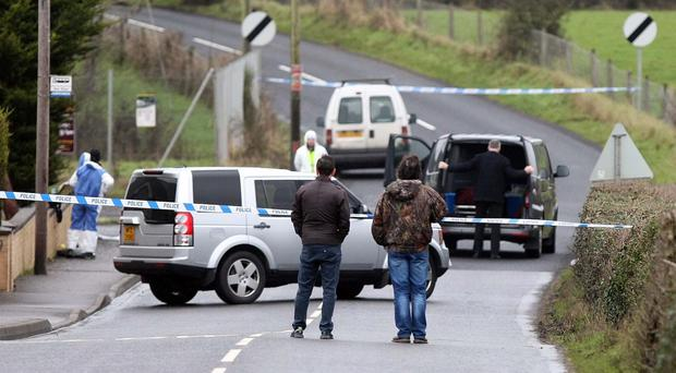 A man's body has been found on a road near Coalisland, County Tyrone. Image: Press Eye