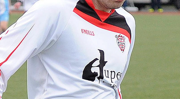 Killyleagh YC joint manager Dale Davidson enjoyed a successful playing career with the club