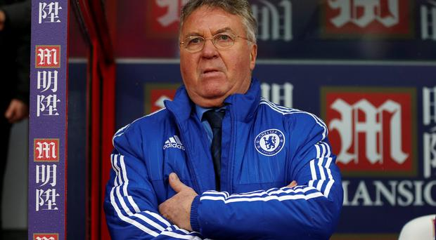 Chelsea interim manager Guus Hiddink