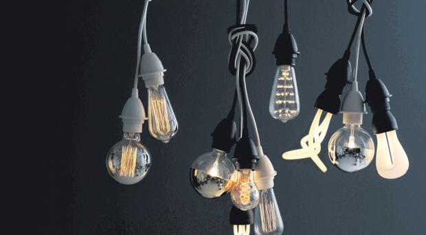 Selection of decorative light bulbs from £10 each available from habitat
