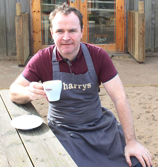 Harry's Shack owner Donal Doherty