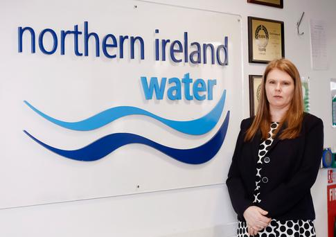 Leading role: Sara Venning says being a government company isn't itself a problem for NI Water