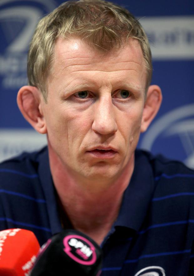 Let down: Leo Cullen had a shocker for Leinster