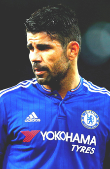 Diego Costa has six goals in six games under Guus Hiddink
