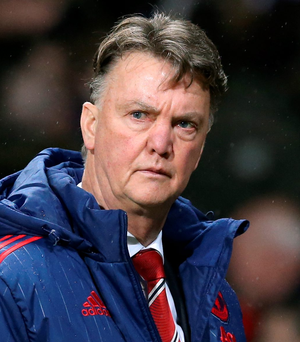 Man Utd boss Louis van Gaal offered his resignation after his side was beaten 1-0 by Southampton on Saturday
