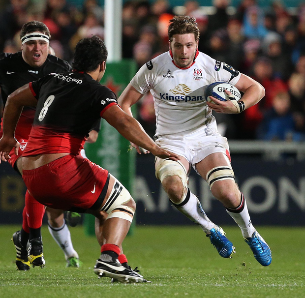 Good news: Iain Henderson is aiming to return this season