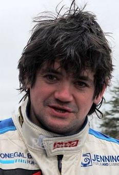 Hot wheels: Garry Jennings is to drive a WRC Subaru Impreza