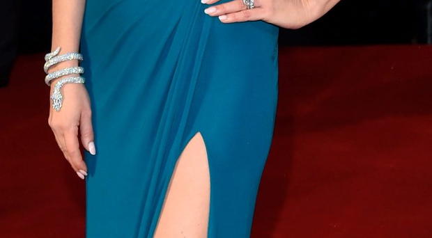 Catherine Zeta-Jones attends the world premiere of Dad's Army at the Odeon Leicester Square, London