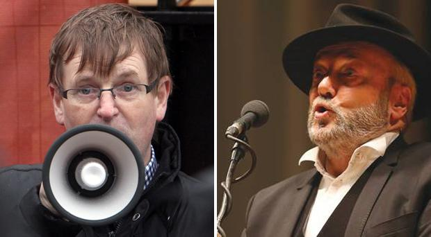 Willie Frazer accepted he may have gone too far in calling George Galloway
