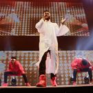 Jason Derulo perfuming during his sell out concert in the SSE Arena in Belfast on the 27th January 2016 (Photo by Kevin Scott / Belfast Telegraph)