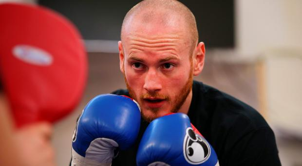 Rebuilding: George Groves is back in the ring on Saturday