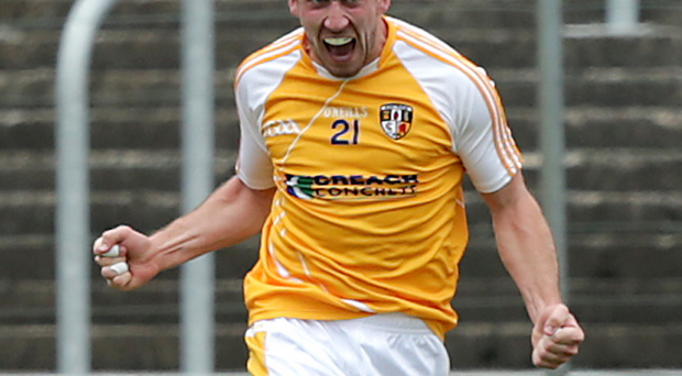 Hotshot: Ryan Murray's fine form is a boost for Antrim