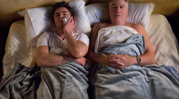 Pillow talk: Zac Efron and Robert De Niro in Dirty Grandpa