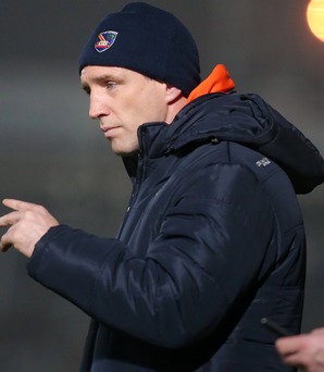 Calling the shots: Kieran McGeeney admits he is throwing Armagh's young talent in at the deep end