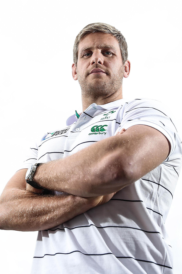 Meaning business: Chris Henry is nearing a return but wants to perform well for Ulster before thinking of joining up with the Irish squad