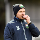 Tasty: Warrenpoint boss Barry Gray is enjoying a sweet run