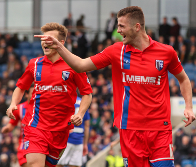 To the point: Rory Donnelly has been in terrific form for Gillingham and he hopes his goalscoring exploits will be enough to earn an NI place