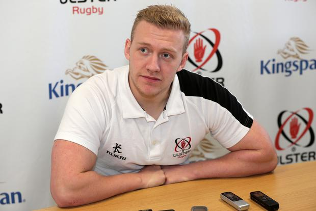 Back in action: Stuart Olding