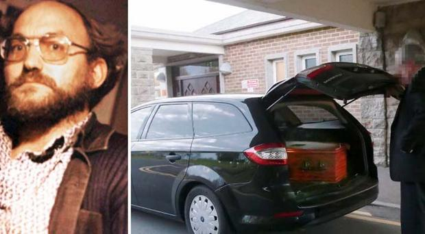 Robert Black was cremated at a secret service in Belfast