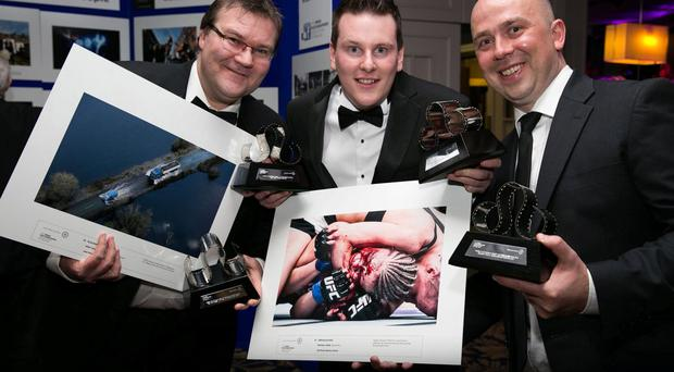 Northern Ireland photographers Niall Carson, Ramsey Cardy, Johnny Porter cleaned up at the Press Photographers Association of Ireland's annual awards in Dublin.