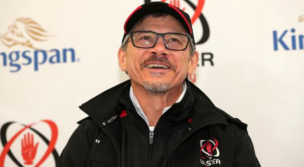 Looking up: Les Kiss saw a lot of good things for Ulster