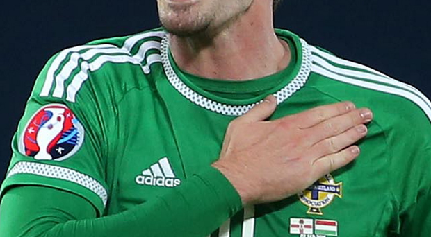 Kyle Lafferty will be Northern Ireland's first choice striker for Euro 2016