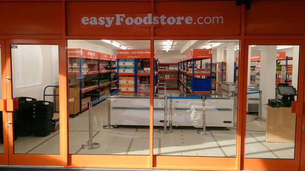 The easyFoodstore in north London. Pic Facebook/easyFoodstore
