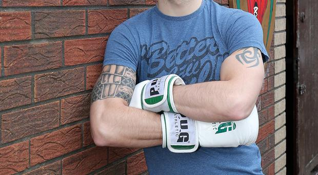 Stepping up: James Fryers is out to stake British title claim