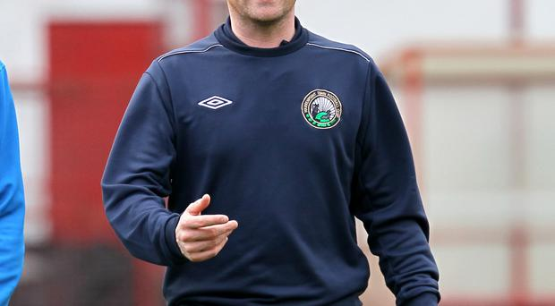 Top man: Town's Barry Gray is Manager of the Month