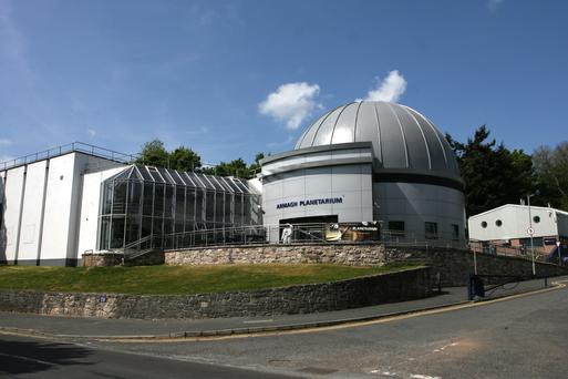 Entrance to Armagh Planetarium