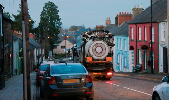 Lorries over 7.5 tonnes will soon be banned from Hillsborough's narrow streets