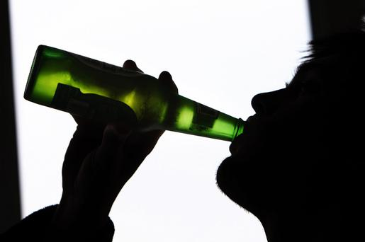 Alcohol-related deaths in Northern Ireland have doubled in the last 20 years, according to a new study. Picture posed