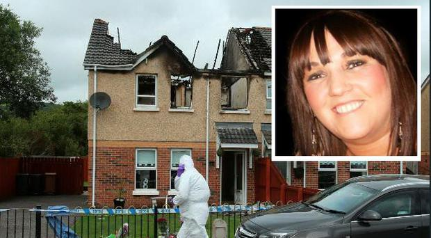 Jennifer Dornan was found stabbed to death in her burning house in Hazel View in the Lagmore area of west Belfast