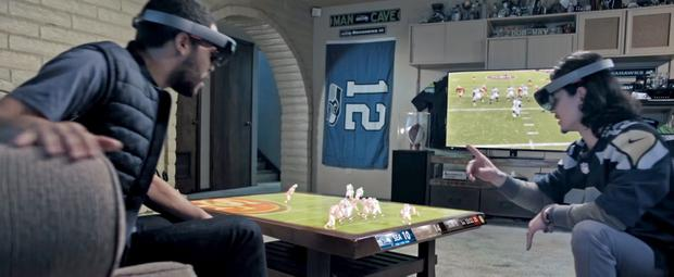 Microsoft thinks their upcoming HoloLens could drastically change how we watch sport