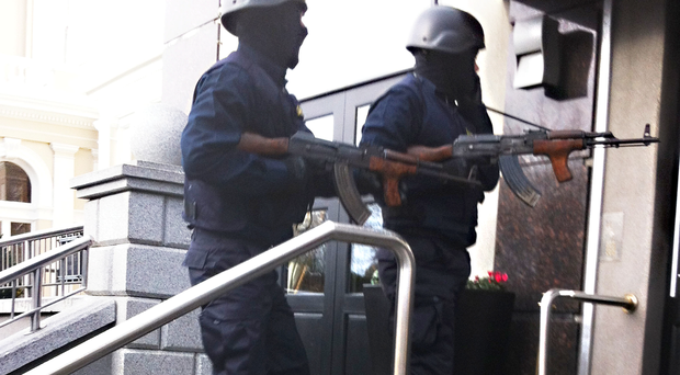 Gunmen disguised as Gardai walk calmly into a Dublin hotel, then kill a man at boxing event in a hail of bullets [File photo]
