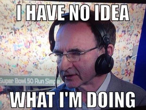Martin O'Neill is a fan of American Football