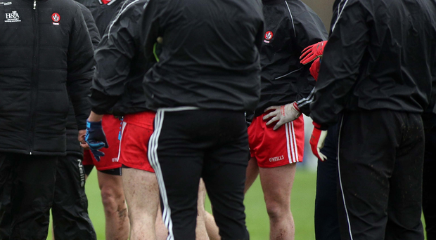 Talking tough: Damian Barton was delighted with Derry's victories over Cavan and Fermanagh