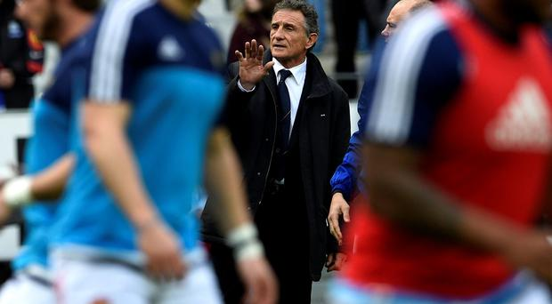 Rebuilding job: Guy Noves admits he has much work to do as he attempts to turn around France's fortunes