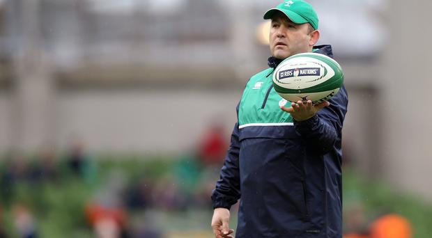 On the ball: Richie Murphy is confident over Irish injuries