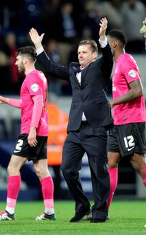High ambitions: Graham Westley